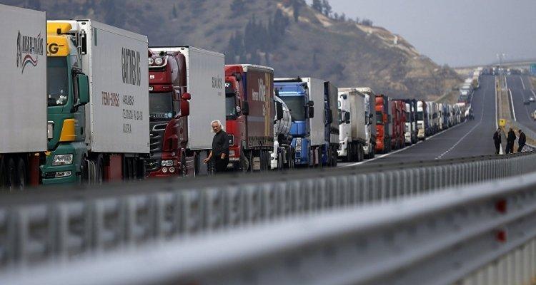 Granița dintre Grecia și Bulgaria, blocată. Mii de ...